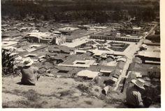 Vista de la Plaza de Armas de Cajamarca desde el cerro Santa Apolonia