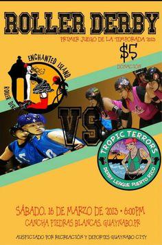 Roller Derby en Puerto Rico @ Guaynabo