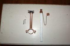 Set Of 3 Copper Wine Bottle Tiki Torch Hardware Kits by IlluminusCreations, $41.00