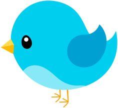 cute bird clipart - Buscar con Google | pájaros | Bambini ...
