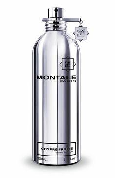 Chypre Fruite MONTALE. Zmysłowy, owocowy zapach, zawierający uwodzicielską ambrę i nuty szyprowe, harmonię bergamotki, róży i jaśminu, osadzone na bazie paczuli i mchu dębowego. Uzupełnieniem jest wibrujący chłód owoców tropikalnych. Rodzina zapachowa: owocowa #montale