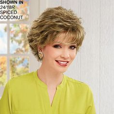 Carson Wig by Paula Young is a short, wavy, easy to style wig. - Paula Young
