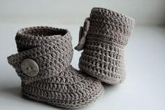 Free Crochet Boot Pattern Uggs Ugh Crochet Boots Free Crochet Boot Pattern Uggs Crochet Baby Ugg Boots Gray Baby Uggs W Pink Bow Baby Ugh Crochet Boots . Ugg Boots Cheap, Uggs For Cheap, Boots Sale, Crochet Baby Boots, Crochet Slippers, Baby Booties, Baby Shoes, Baby Sandals, Baby Patterns