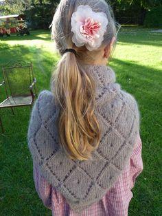 châle tricoté