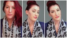 How To Look Your Best While Your Sick! Effortless Makeup and Hair!