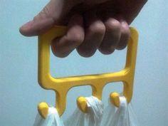 Grocery Bag Holder  www.solidafide.com #assistivetechnology…