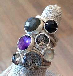 sikara stackable rings