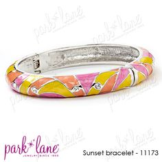 Sunset Bracelet.  Wear two of them!  https://www.jewelsbyparklane.com/cart/product_details/id/3026