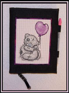 Tatty Teddy made in 5D Cross Stitcher - Class example