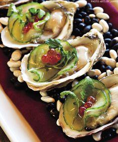 Alaskan Oysters recipe courtesy of Chef Travis Haugen, Southside Bistro