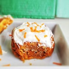 Mini Carrot Cake. A delicious option for those days when you don't need to feed a crowd.