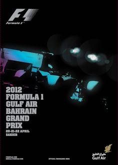 862GP - 2012 FORMULA 1 GULF AIR BAHRAIN GRAND PRIX PROGRAMA