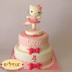 עוגות יום הולדת בנות | עוגות מעוצבות מבצק סוכר