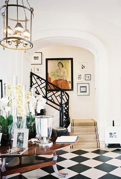 Railing + Floor ZsaZsa Bellagio – Like No Other: House Beautiful