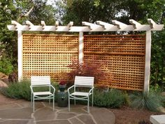 Gentil Privacy Screen. Designed For Single Family Back Yard