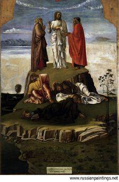 1455 'Transfiguration of Christ'  GIOVANNI BELLINI (Venezia, 1433 circa – Venezia, 26 novembre 1516)   #TuscanyAgriturismoGiratola