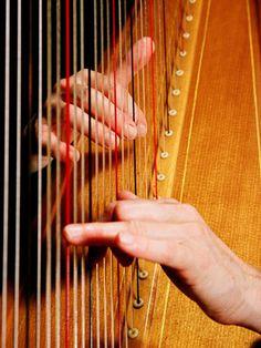 Proficient harpist...Salzedo Technique!