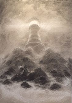Pencil Drawing Techniques The lighthouse More - From smudging techniques to dramatic use of white chalk, Irish illustrator PJ Lynch has some useful tips on how to make great drawings using charcoal Charcoal Drawing Tutorial, Charcoal Sketch, Charcoal Art, Charcoal Drawings, Hipster Drawings, Easy Drawings, Drawing Techniques, Drawing Tips, Drawing Ideas