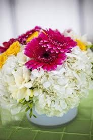 Yellow & Red gerberas with white Daises from #indiaflowerplaza