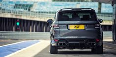 The Overfinch Range Rover Sport is the latest tuned Land Rover to come out of the British tuner's shops. Private Number Plates, Range Rover Sport, Range Rovers, Best Suv, Digital Trends, My Ride, Hot Cars, Cars And Motorcycles, Ranger