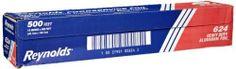 "Reynolds 624 500' Length x 18"" Width, Heavy-Duty Aluminum Foil Roll by Reynolds, http://www.amazon.com/dp/B004NG90XA/ref=cm_sw_r_pi_dp_e2ratb0ZFC3R2"