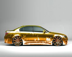 BMW M5 Customized Paint Job