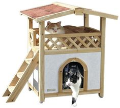 Kerbl Cat House Tyrol Alpin, 57 x 88 cm *** More info could be found at the image url. #CatScratchersandFurniture