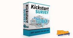 Kickstart Survey Review and Bonuses + SPECIAL BONUSES & COUPON => https://www.jvzooproductreviews.com/kickstart-survey-review-and-bonuses/  Any Survey On Any Site... A Unique Way To Build Your List And Sell To Them! #KickstartSurvey