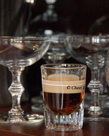 Crazy Cow    (1 ounce Chocolate Vodka    1/2 ounce Irish Cream)
