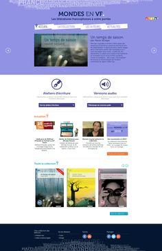 Web Design, Le Site, Collection, Language, Learning, I Want You, Livres, Design Web, Website Designs