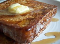 Fluffy French Toast!!   The secret to the fluffiness is due to one unexpected ingredient....flour!!....GREAT recipe!!