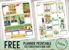 Boy Scouts and Girl Scouts Planner Printable FREE