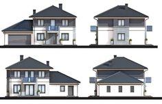 House design Kastor II G2 , wizualizacja 2