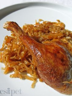 Hungarian Recipes, Greek Recipes, Poultry, Carne, Chicken Recipes, Bacon, Pork, Food And Drink, Turkey
