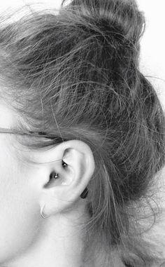 Daith-piercing!<3 More