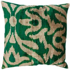Dylan Pillow Emerald now featured on Fab.  #pantone #emerald #green #2013