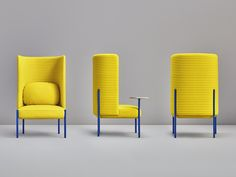 Fauteuil. Mod. ARA Small Chair For Bedroom, Bedroom Chair, Outdoor Chairs, Outdoor Furniture, Outdoor Decor, Colores Ral, Turquoise Chair, Yellow Armchair, Ara
