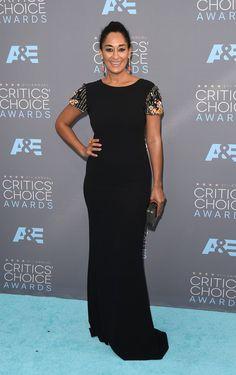 Pin for Later: Seht die Stars von einer anderen Seite bei den Critics' Choice Awards Tracee Ellis Ross in Randi Rahm