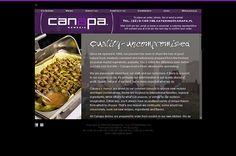 Strona internetowa firmy cateringowej