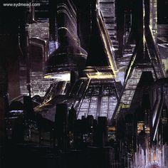 Syd Mead- Blade Runner