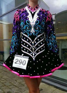 b07e74e32812b Gavin Irish Dance Solo Dress Costume Irish Costumes, Dance Costumes, Celtic  Dress, Dance