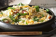 This easy fried rice is super simple and will have dinner on the table in no time.