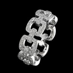 From our New collection eternity diamond band , designer Beverley K