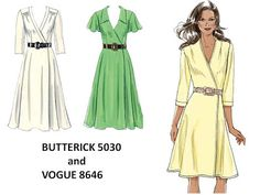 Pintucks: Under Tuscan Sun: Sewing Retro Style Dresses
