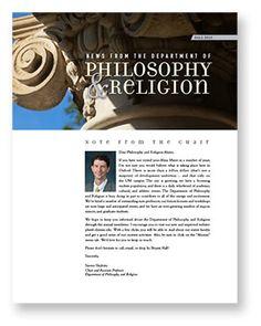 Department Of Philosophy Religion