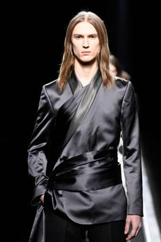 The World's Fashion Business News Christian Dior Homme, Mens Fashion Week, Business Fashion, Fall Winter, Menswear, Satin, Leather Jacket, Roommate, Business News