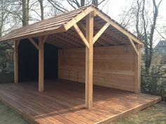 This type of pop up gazebo is definitely a very inspiring and spectacular idea up gazebo ideas Outdoor Buildings, Garden Buildings, Outdoor Structures, Backyard Sheds, Backyard Patio, Outdoor Rooms, Outdoor Living, Outdoor Gym, Bbq Shed