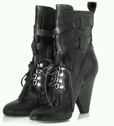 JEROME C ROUSSEAU ARTEMIS BLACK LACE-UP BOOTS - BRAND NEW in Clothing, Shoes & Accessories, Women's Shoes, Boots   eBay