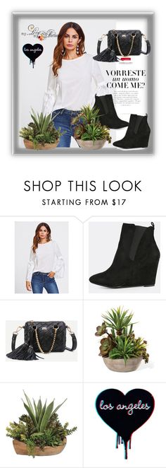 """shein 3"" by aida-1999 ❤ liked on Polyvore featuring Vanity Fair"