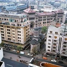 Places Worth Visiting, Places To Visit, Warsaw Pact, Bucharest Romania, Interesting Buildings, Old City, Old Pictures, Time Travel, Beautiful Places